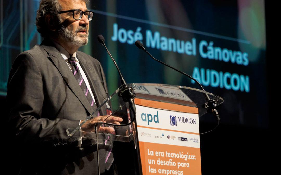 Audicon, primera auditoría gallega premiada por el Consejo General de Economistas