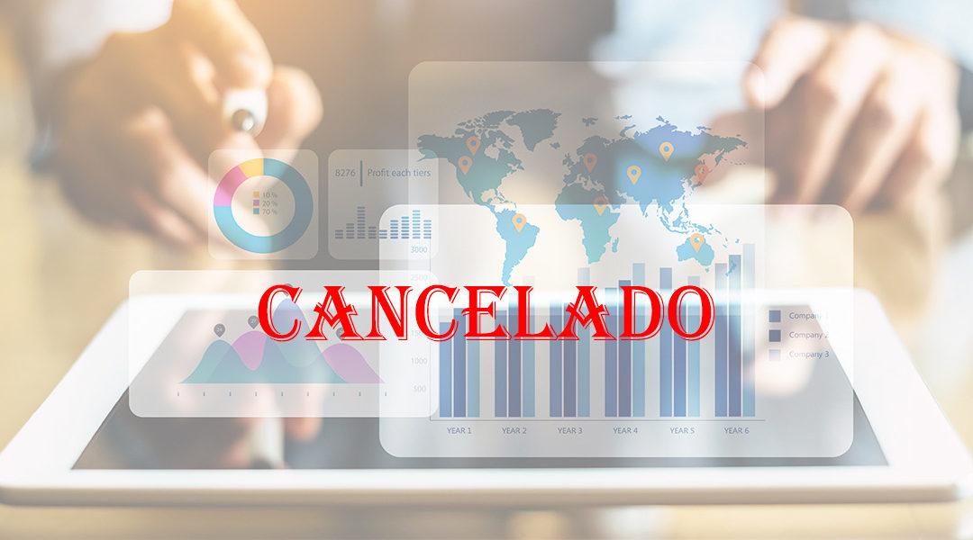 Cancelación de la Jornada